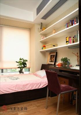 客房兼书房装修效果图