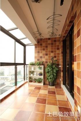 美式风格阳台装修效果图欣赏