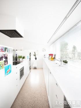 厨房铝合金百叶窗效果图