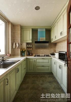 家居整体厨房橱柜效果图片