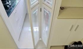 厨房隔断折叠门图片