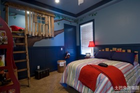 男生小孩房间布置效果图片