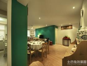 混搭风格三居室室内装修效果图
