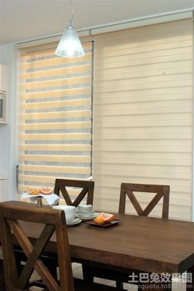 餐厅柔纱帘图片
