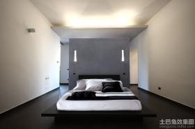 极简主义风格卧室效果图