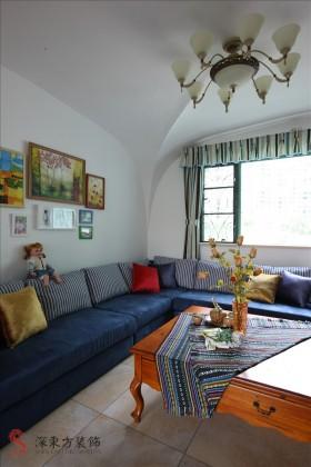地中海风格客厅装饰效果图大全