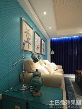客厅壁纸装修效果图大全2013图片