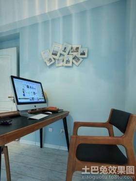 简约书房室内设计效果图