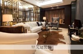 客厅镜面背景墙造型设计