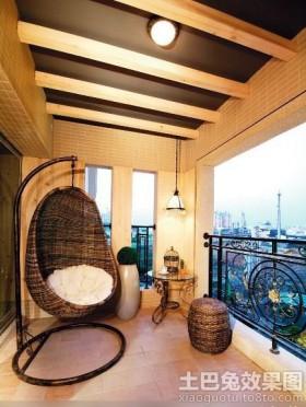 家庭阳台吊顶图片