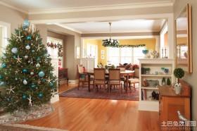 餐厅圣诞装饰品图片
