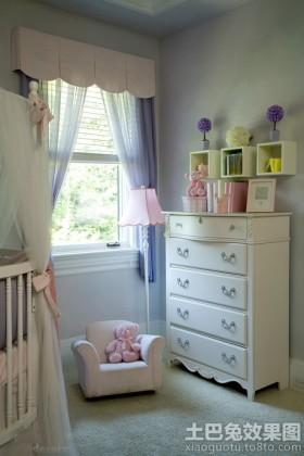 儿童房飘窗儿童房欧式置物柜效果图