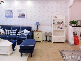 家居靠墙置物柜装修效果图