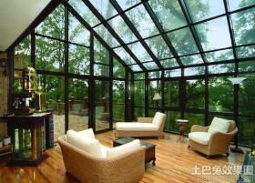 钢结构玻璃房效果图