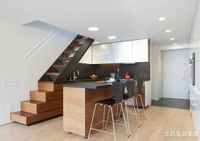 现代简约风格跃层式住宅效果图