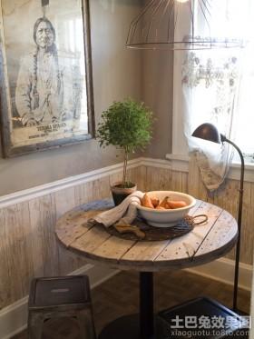 家装实木护墙板效果图