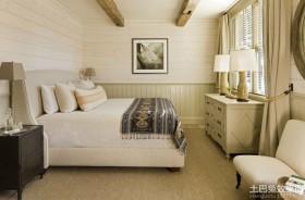 卧室实木护墙板效果图