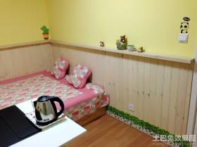 卧室实木护墙板贴图