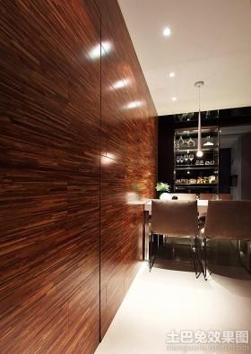 书房实木护墙板背景墙效果图