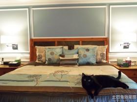 卧室护墙板效果图欣赏