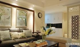 美式客厅装饰效果图片大全