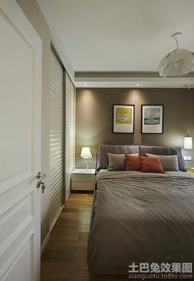 混搭风格卧室装修效果图片