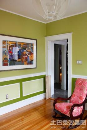 宜家墙上抽象画装饰效果图