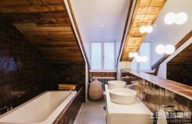 阁楼卫生间设计效果图