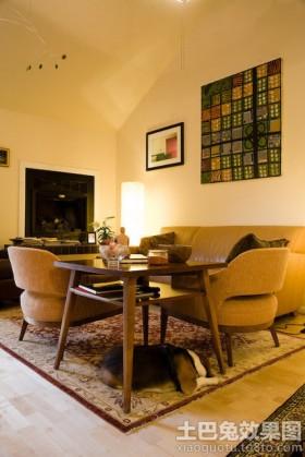 混搭60平米小户型客厅装修效果图片