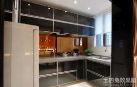 宜家厨房不锈钢橱柜效果图