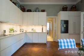 极简风格厨房橱柜效果图