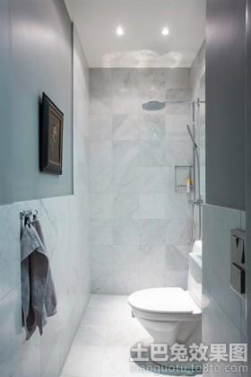 极简小卫生间装修效果图欣赏