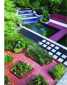 别墅庭院景观效果图欣赏