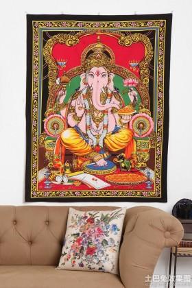 客厅手工挂毯图片