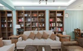 客厅实木置物柜装修效果图