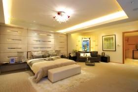 现代简约30平米卧室装修效果图