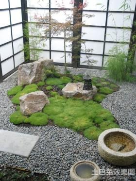 日式风格别墅庭院装修效果图大全2015图片