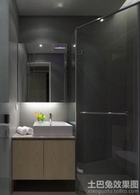卫生间整体浴室柜装修效果图片