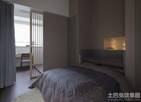 卧室隔断墙设计效果图