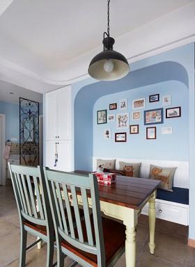 地中海风格小户型餐厅装修效果图