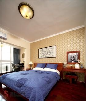 简中式主卧室装修效果图大全