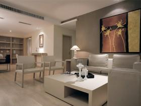 简约风格客厅沙发茶几图片欣赏
