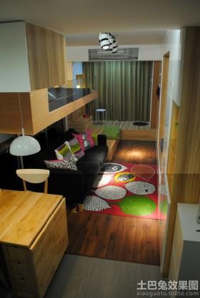 现代33平米小户型室内效果图