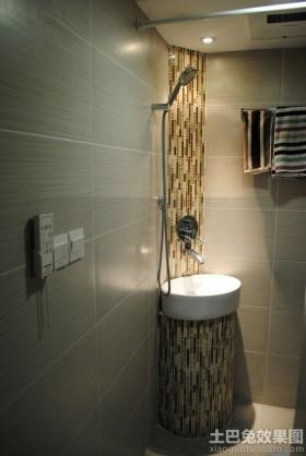 卫生间瓷砖装饰效果图片