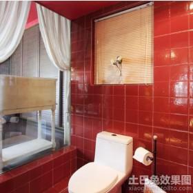 家庭卫生间瓷砖效果图片欣赏