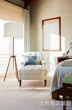 卧室单人休闲沙发椅图片