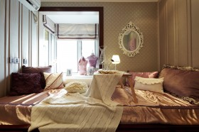 新古典卧室榻榻米装修效果图大全