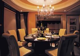 欧式奢华餐厅装修效果图片