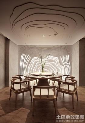 中式风格餐厅设计效果图片