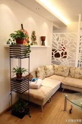 简约客厅室内花卉图片大全